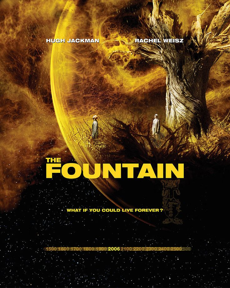 """The Fountain (2006) """"Grand Inquisitor Silecio: Our bodies are prisons for our souls. Our skin and blood, the iron bars of confinement. But fear not. All flesh decays. Death turns all to ash. And thus, death frees every soul."""""""