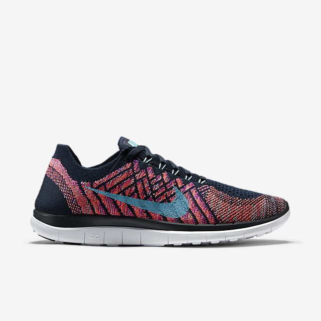 huge selection of 67814 980ff ... Nike Free 4.0 Flyknit Womens Running Shoe.
