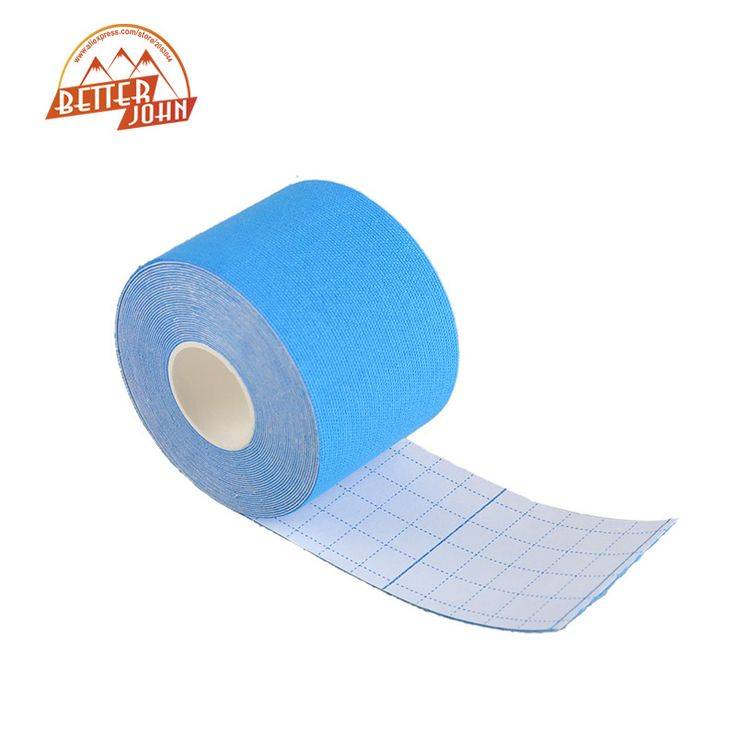 5cm x 5m Kinesiology Roll Cotton Elastic Adhesive Muscle Bandage Strain Injury Support Neuromuscular Sport Tape * Click the image for detailed description