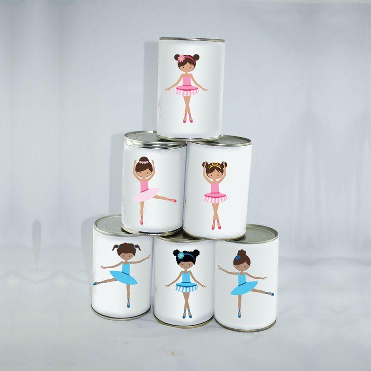 6 Grandes Étiquettes Danseuses Chamboule-tout : Jeux, jouets par creerpourvous