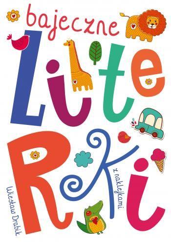 """""""Bajeczne literki"""" to książka edukacyjna zawierająca krótkie zabawne wierszyki autorstwa Wiesława Drabika oraz ćwiczenia związane z nauką alfabetu. Dziecko w łatwy i przyjemny sposób nauczy się rozpoznawać, czytać i pisać litery. <br><br> Rysunki do kolorowania oraz naklejki to dodatkowy atut tej pozycji."""
