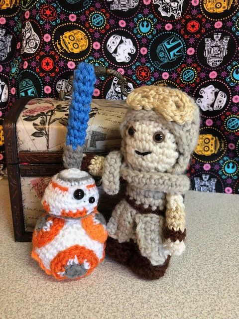 Excited to share the latest addition to my #etsy shop: Rey and BB8 #creationsbysunni