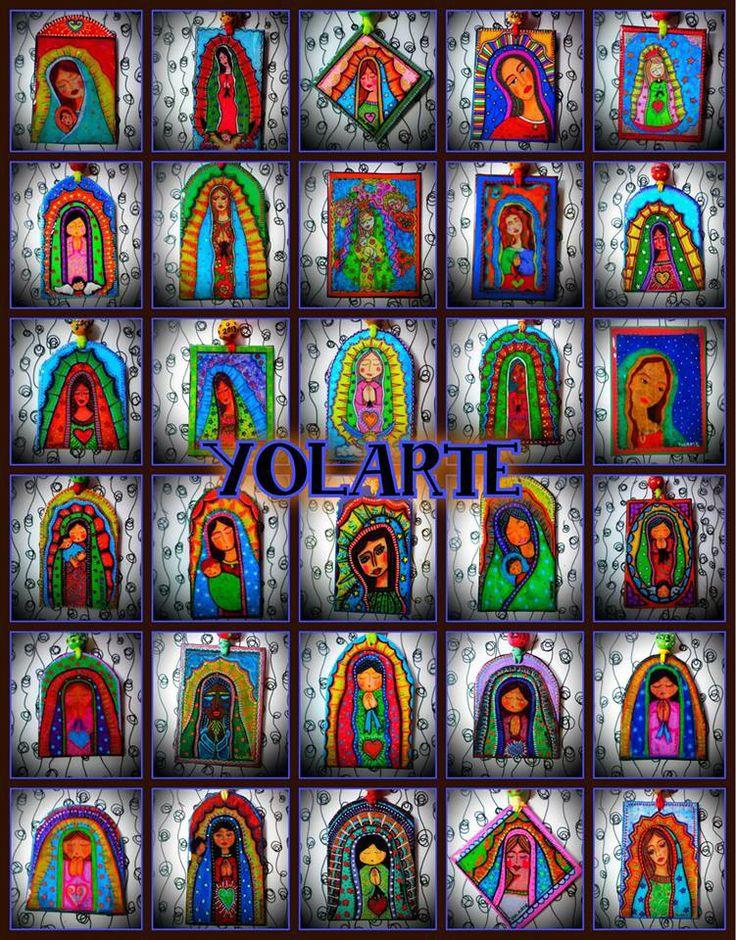VIRGEN DE GUADALUPE YOLARTE