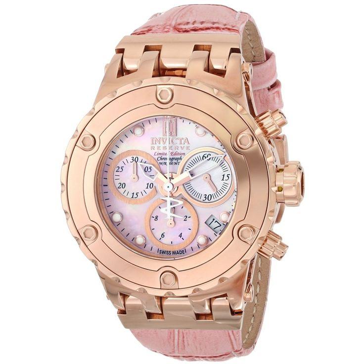 Invicta Jason Taylor 14606 http://invictamexico.com/invicta-mujer-14606-subaqua-reloj-acero-inoxidable-oro-rosa.html