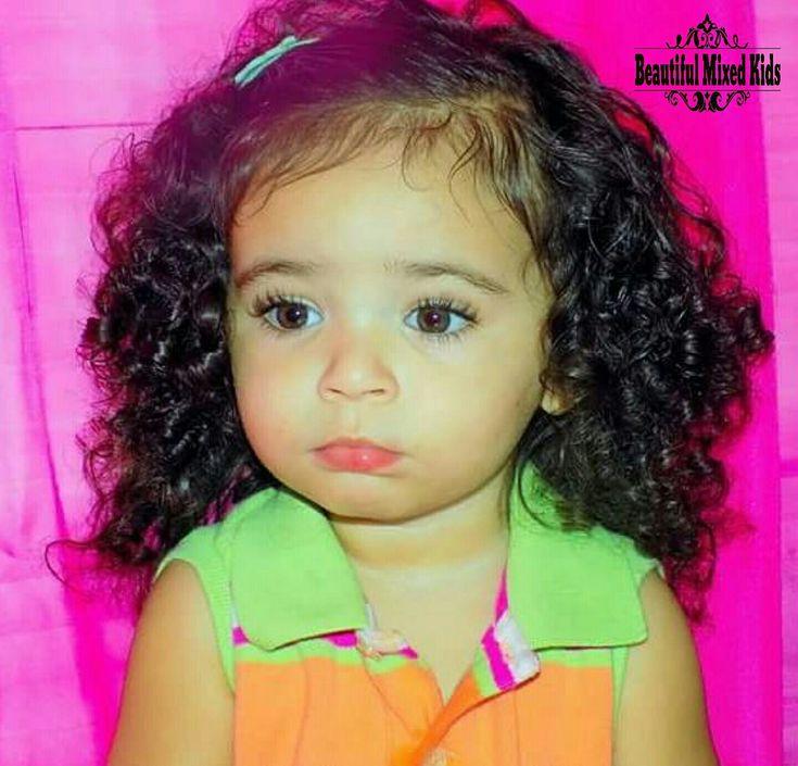 Kailyn Grace – 2 ans • Afro-américaine et italienne ❤   – beautiful kids