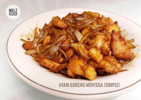 Ayam Goreng Mentega (Simple)