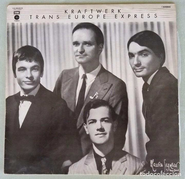 KRAFTWERK. TRANS EUROPE EXPRESS. LP VINILO. 1977 (Música - Discos - LP Vinilo - Pop - Rock - New Wave Extranjero de los 80)