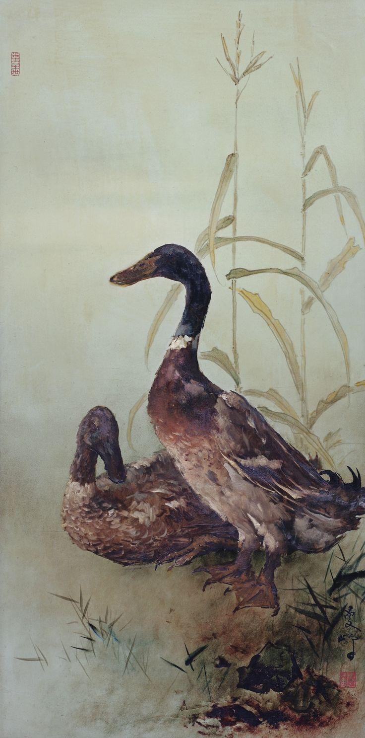 lee man fong ducks | animals | sotheby's hk0657lot962gden