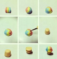 Polymer clay food tutorials and Miniatures on Pinterest