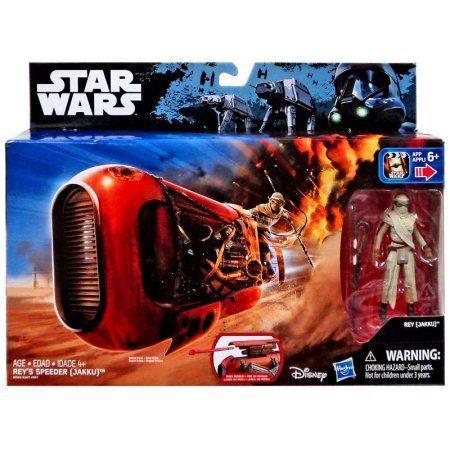 Star Wars The Force Awakens Rey's Speeder Vehicle [Jakku], Multicolor