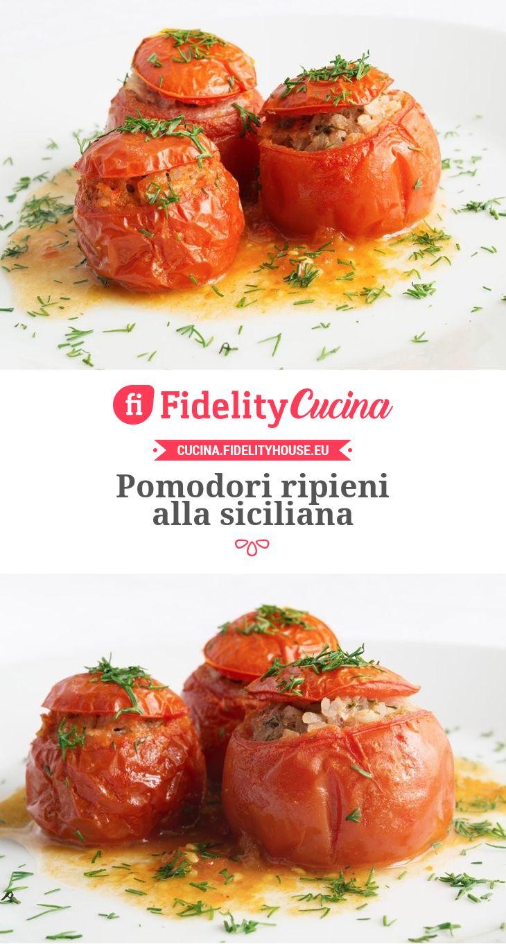 Pomodori ripieni alla siciliana