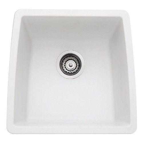 Blanco 440081 Performa Silgranit II Single Bowl Sink White *** Read More  Reviews Of