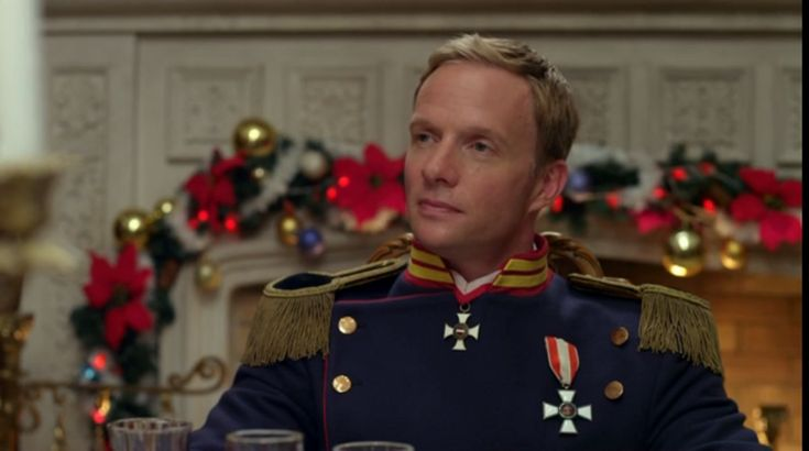 Rupert Penry Jones ....King Maximilian III in Crown for Christmas