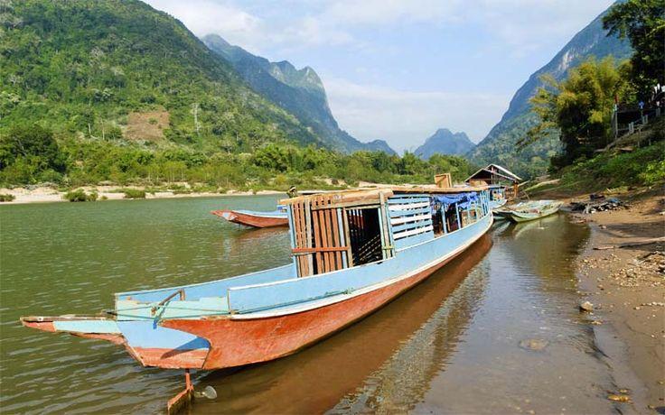 Bevaar de machtige Mekong rivier in de noordelijke provincies van Cambodja; een ongerept gebied waar nog niet veel reizigers u voorgingen. Kijk snel op Original Asia! Rondreis - Vakantie - Cambodja - Mekong rivier - Boottocht - Excursie