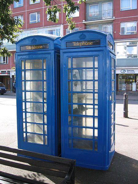 Blue Phone box
