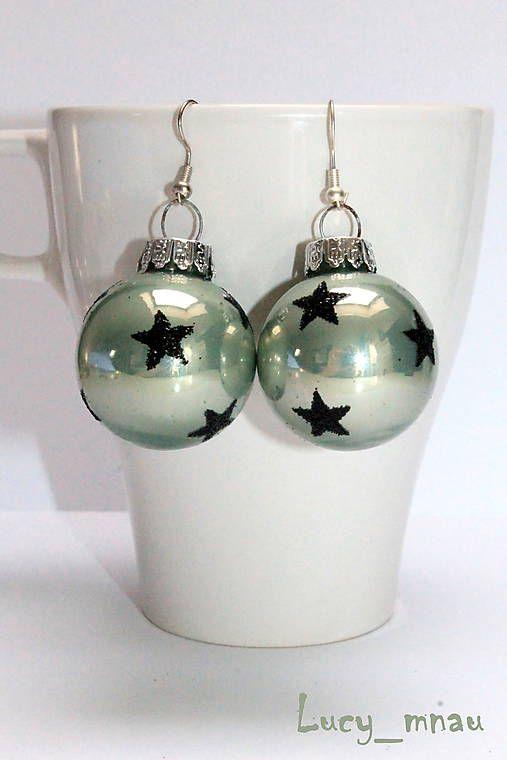 lucy_mnau / Zimné zelené s hviezdičkami :)