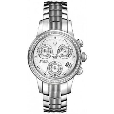Bulova Accutron - Ladies Masella Chronograph Diamond Watch - 63R136 - RRP: £1,425.00 - Online Price: £712.00