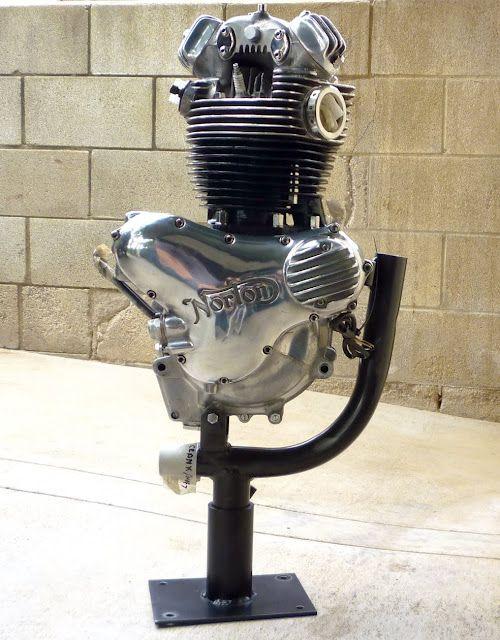 Norton - Commando single motor