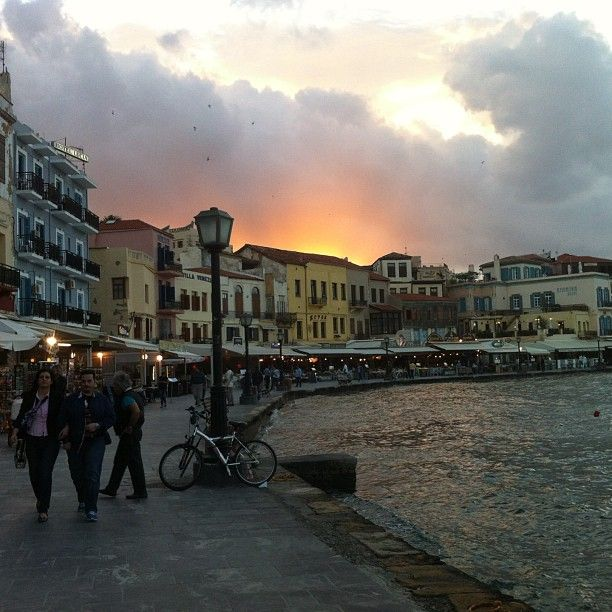 Walks around #Chania  Photo credits: @elisabeth_skatvold