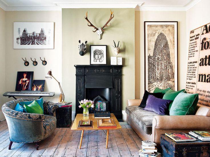 Bea Deza, la creadora de la firma de moda Sister Jane, un piso en Notting Hill.