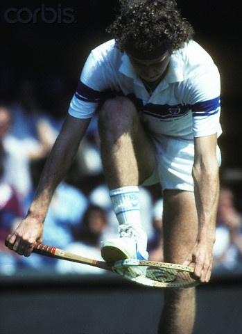"""""""You cannot be serious!"""" Screamed by Johny Mac at the umpire at Wimbledon while trying to break his racket!"""