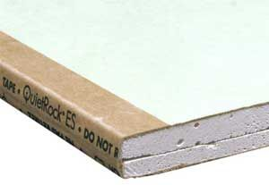 Quiet rock mold resistant and sound proof holmes on homes for Mold resistant insulation