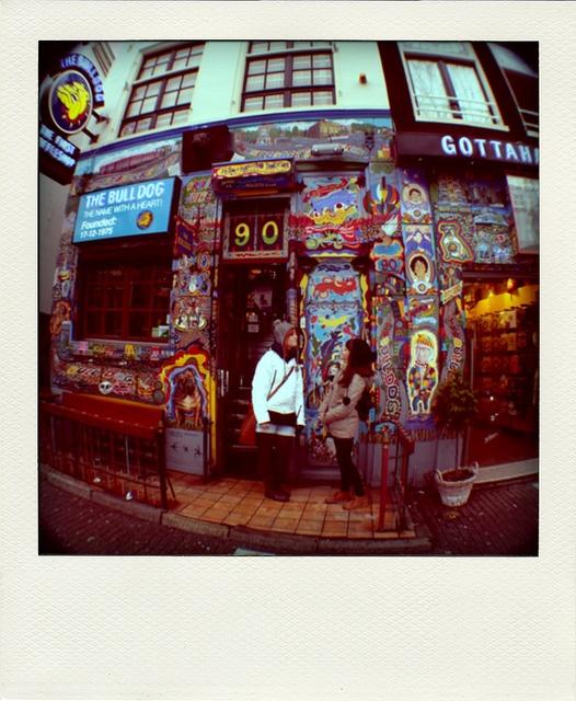 Amsterdam Coffee shops. The Bulldog by Carmen Diaz.