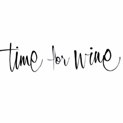 Time for wine ❥  I want this embroidered on my kitchen towels!  would be so cute.