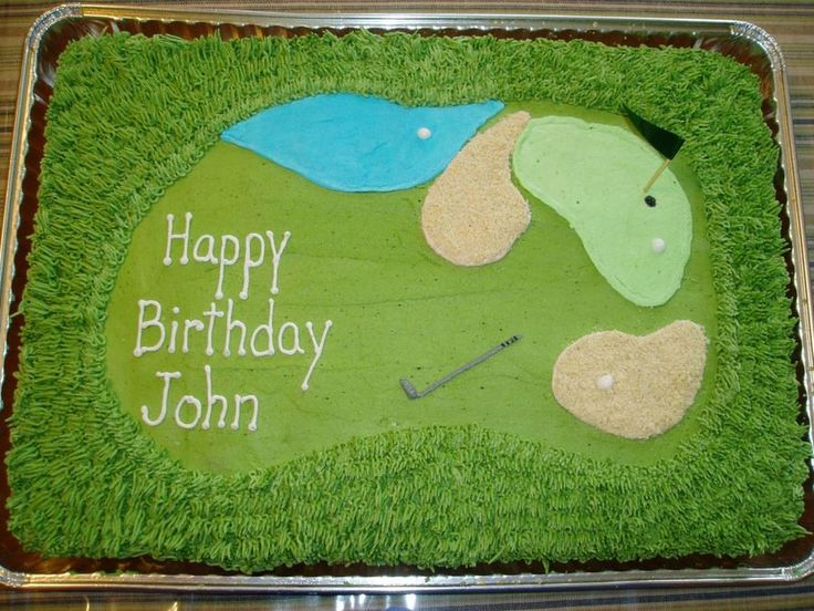 Golf Course Cake  on Cake Central                                                                                                                                                                                 More