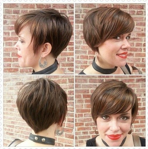 Stylish Short Hairstyles for Women 2015