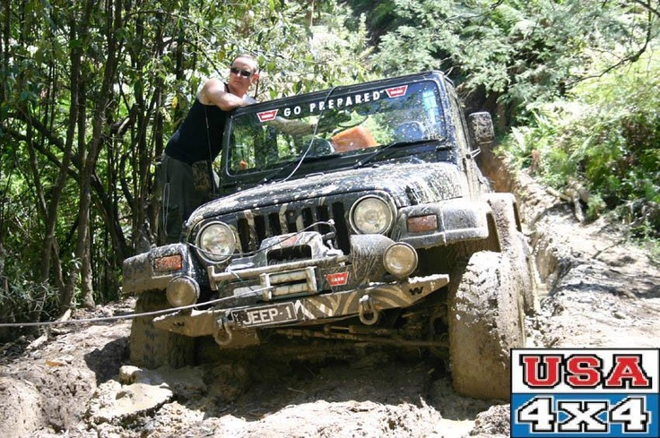 Tony Whitehead from USA 4x4 in Melbourne Dr. Jeep in