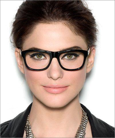 Bobbi Brown - glasses - makeup tutorial