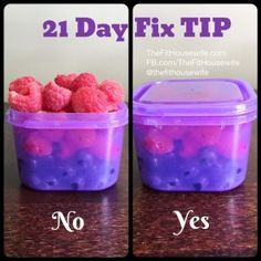 Get the breakdown on each 21 Day Fix container and how to use them to see maximum results.