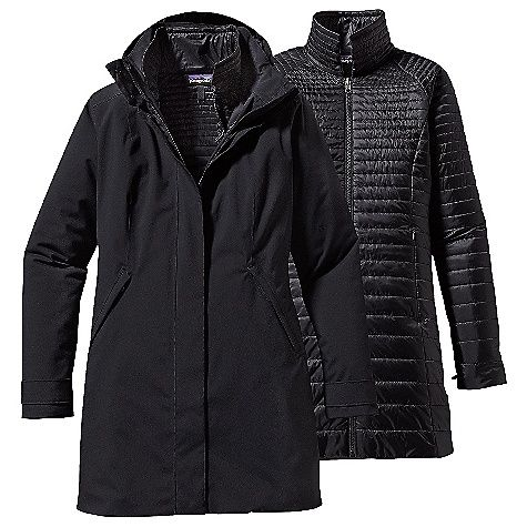 Patagonia Women's Vosque 3-in-1 Parka: FEATURES of the Patagonia… #NorthFaceJackets #PatagoniaJackets #ArcteryxJackets #MountainHardwear