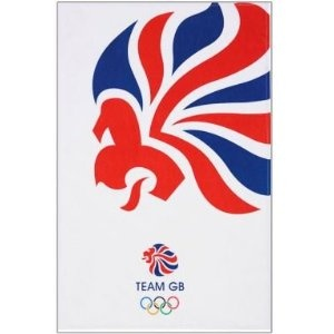 Price: $9.58 - London 2012 Olympics Team GB Tea Towel - TO ORDER, CLICK THE PHOTO