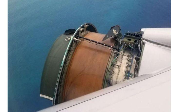 #alquilaraviones Motor de un avión de United Airlines se desintegra en el aire - El 19 Digital #kevelairamerica