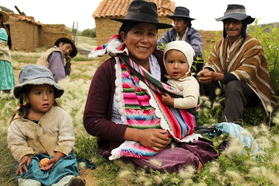 The people of Paraguay by their homes. | Quotables and ...