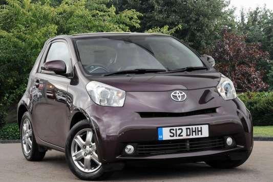 Used 2012 ( reg) Purple Toyota IQ 1.0 VVT-i 2 3dr for sale on RAC Cars