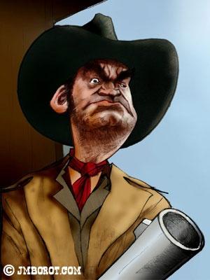 Jack Elam .. great character actor