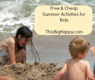 FREE (& cheap) Summer Activities