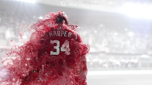 I had the pleasure of directing MLB star Bryce Harper for the new Gatorade Fierce commercial. A lot of time consuming VFX fluids were used to define the new look for the fierce campaign.