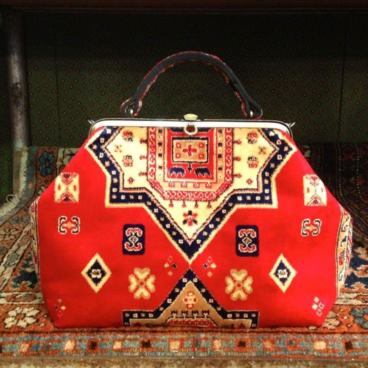 Gladstone Carpet Bag, handmade in Suffolk. The bag we've always wanted! - £195.00 - Ark Cambridge