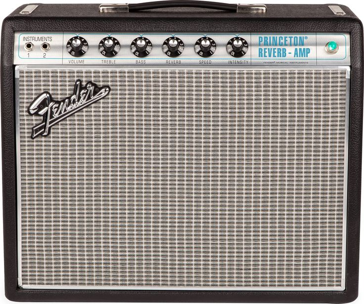"""1968 was a transitional year for Fender amps, with tone that was still pure Fender but a look that was brand new. With a silver-and-turquoise front panel and classy aluminum """"drip edge"""" grille cloth t"""