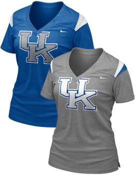 NIKE TEAM SPORTS : University of Kentucky Women's Football T-Shirt : University of Kentucky Bookstore