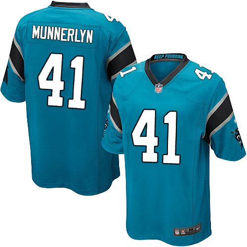 Youth Nike Carolina Panthers #41 Captain Munnerlyn Limited Blue Alternate NFL Jersey Sale