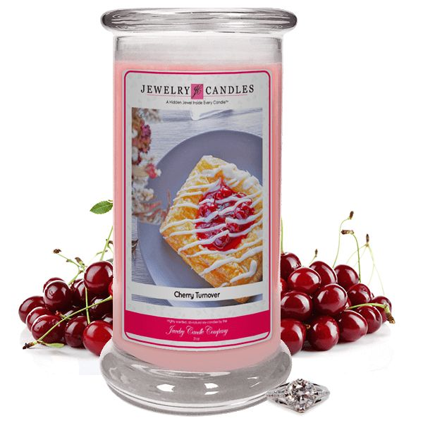 Cherry Turnover Jewelry Candle