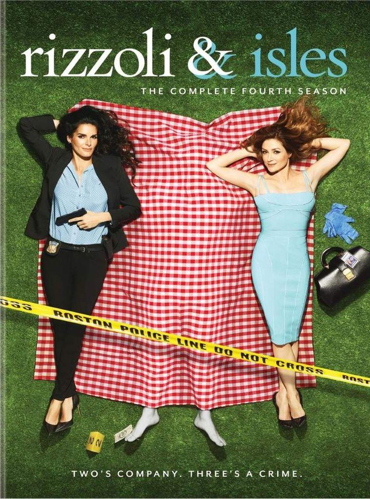 Rizzoli & Isles saison 4 en dvd