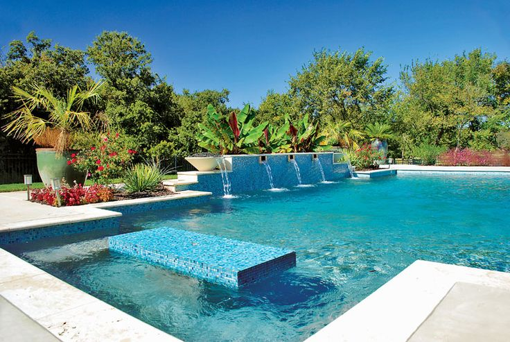 1000 ideas about blue haven pools on pinterest pools swimming pools and pool designs for Swimming pools with built in tables