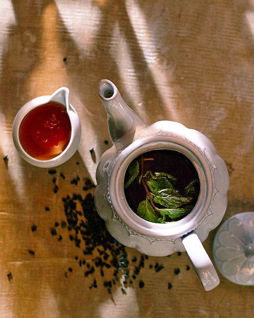 Moroccan Mint Tea ~