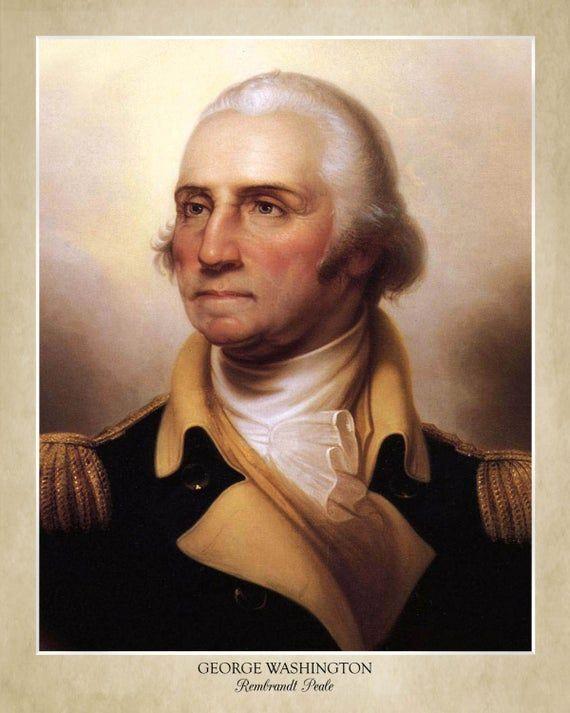 George Washington Tattoo U S Presidents In 2020 Portrait Washington Tattoo George Washington Costume